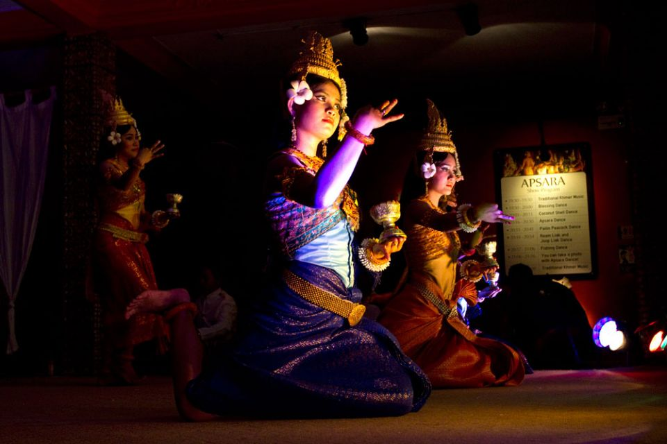 - Apsara dance - traditional dance of Cambodia.